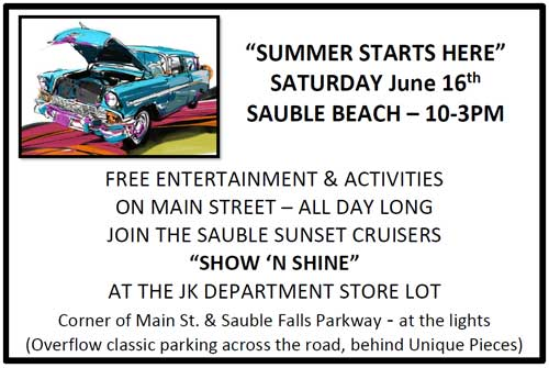 summer sauble event